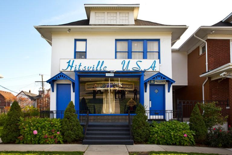 Motown Museum, Detroit, Michigan, USA. Oct. 23, 2014.