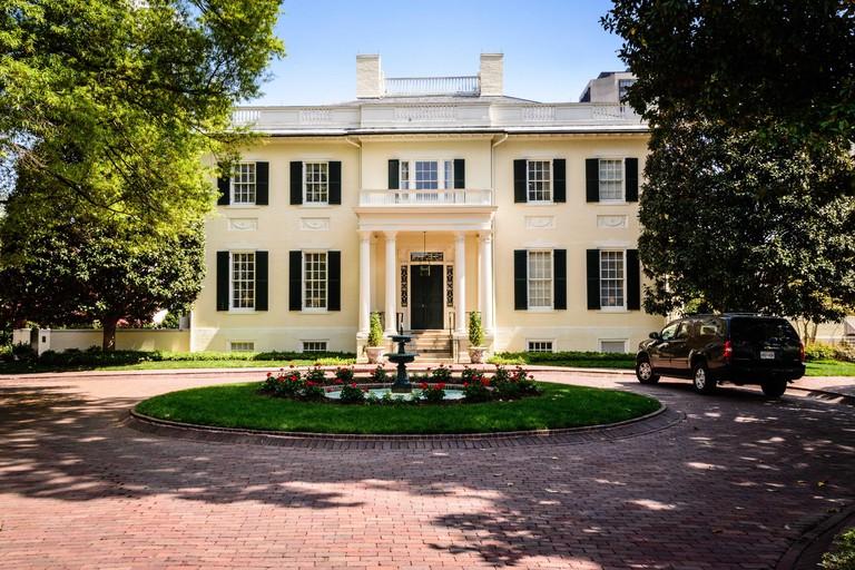 Virginia Executive Mansion (Governor's Mansion), Capitol Square, Richmond, Virginia