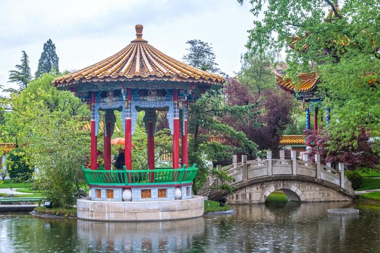 Chinese Garden Zurich Switzerland