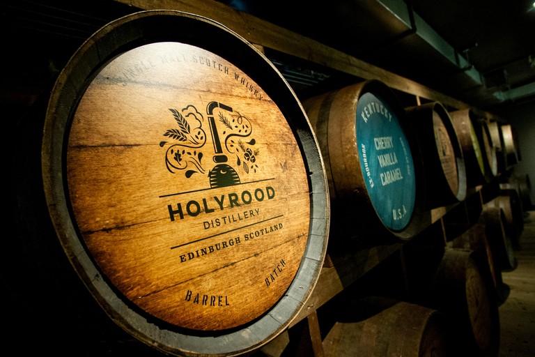 Holyrood Distillery. Portobello Beach, Edinburgh, Midlothian, Scotland. 28,07, 2019.Pic shows: Holyrood Distillery, the new whisky and gin distille