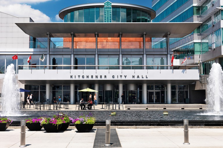 Kitchener City Hall building, Ontario, Canada 2012