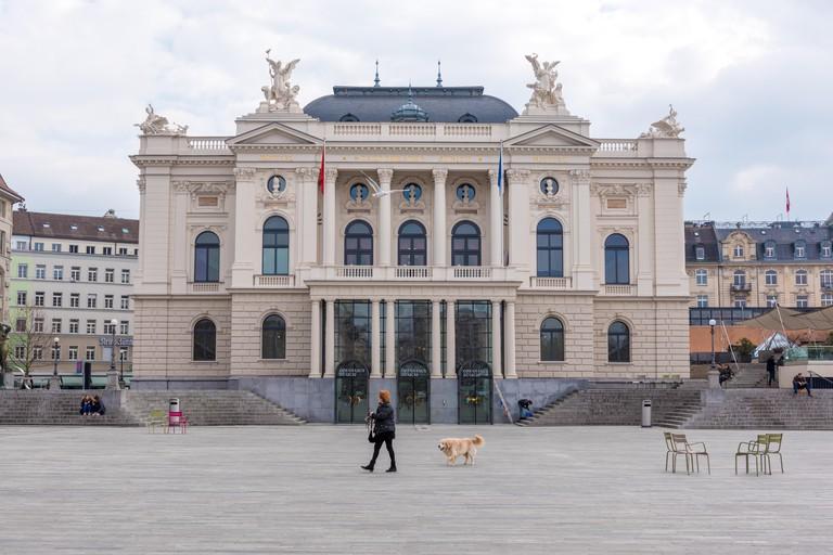 Zurich opera house (Opernhaus Zurich)