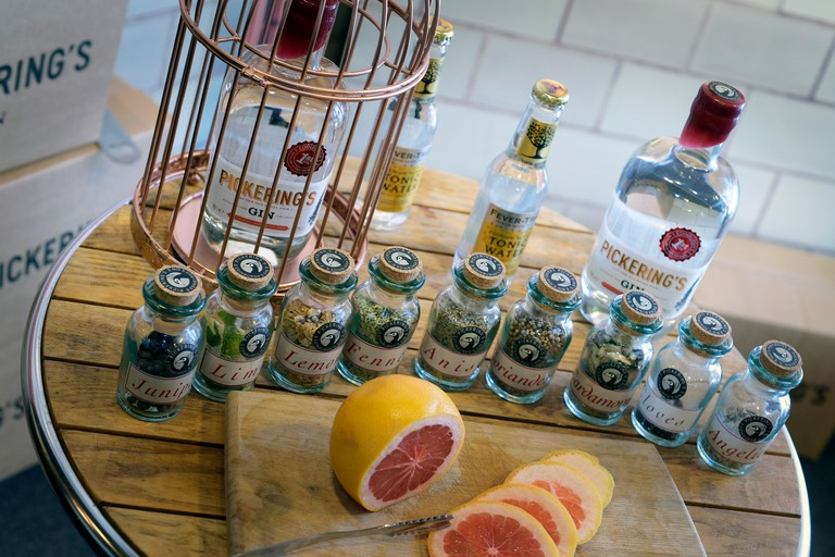 Pickering's Gin Edinburgh's first gin distillery