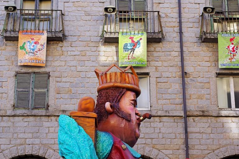 "Tempio Pausania, Sardinia, Italy. The ""Carrasciali timpiesu"", the most iimportant carnival in Sardinia"