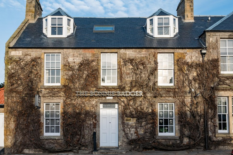 The Bonnie Badger, newly opened hotel, restaurant and pub by Tom Kitchin, Gullane, East Lothian, Scotland, UK