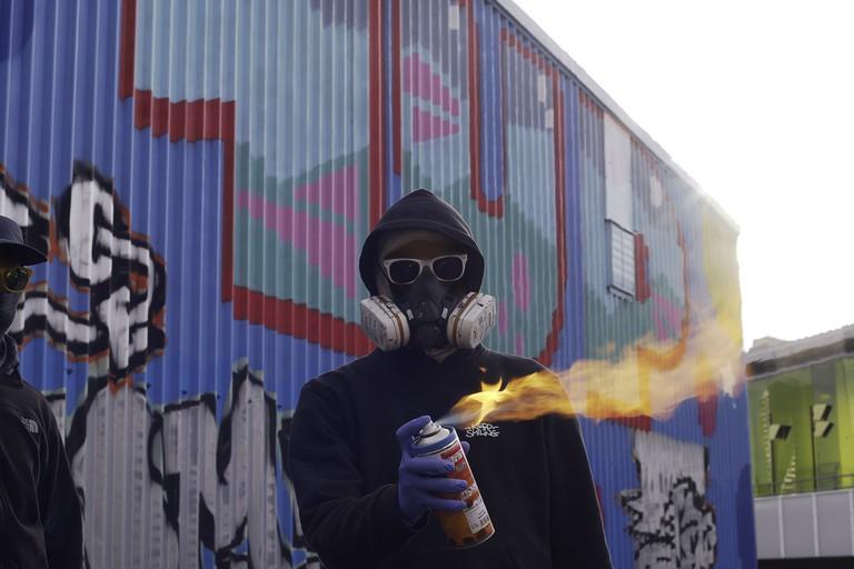 1Up - London Mural Festival - Carpenters & Docklands Centre, 98 Gibbins Rd, London E15 2HU