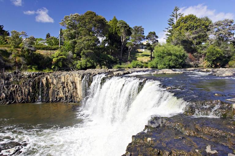 Haruru Falls near Paihia Northland New Zealand