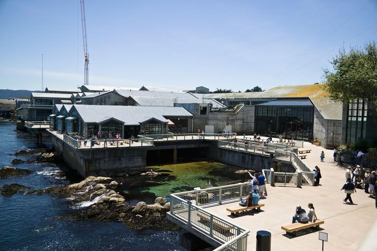 Monterey Bay Aquarium, exterior California, USA
