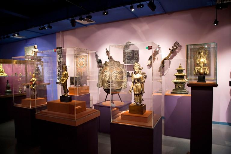 France, Pyrenees Atlantiques, Biarritz, Musee d'Art oriental Asiatica (Oriental Art Musuem)