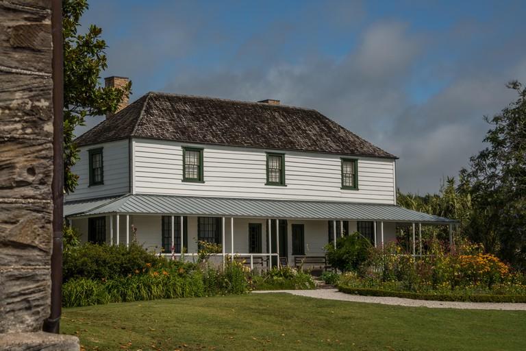 The Kemp House at the Kerikeri Mission Station in Kerikeri, Bay of Islands, North Island, New Zealand