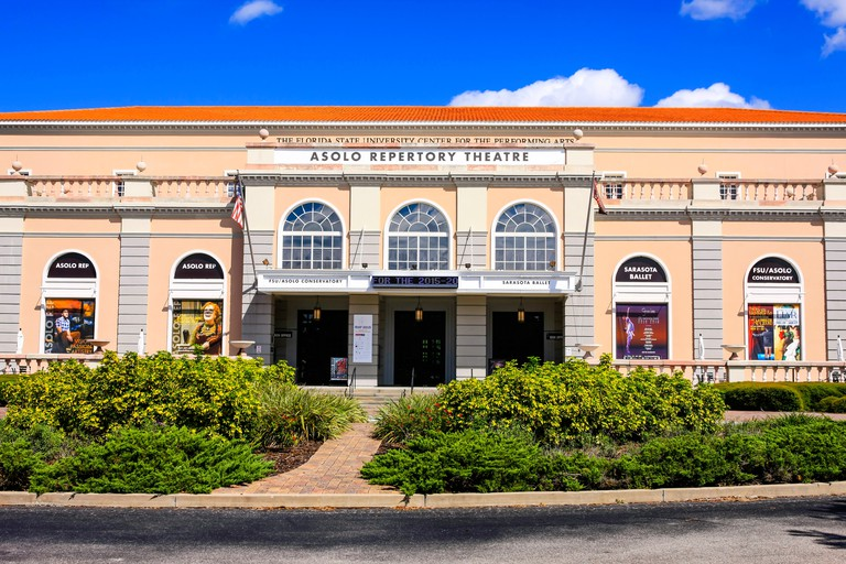 The Florida State University Center For The Performing Arts in Sarasota, also called the Asolo Repertory Theatre