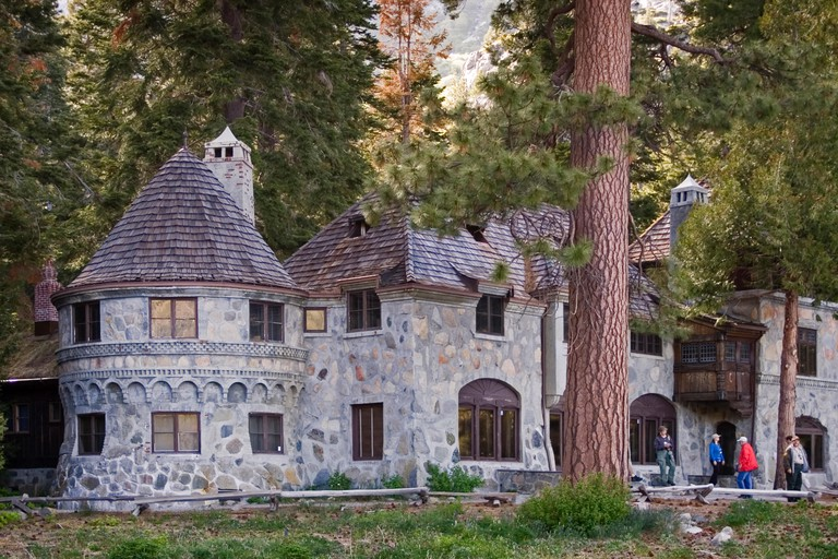 Vikingsholm Castle at Emerald Bay State Park, Lake Tahoe, California.
