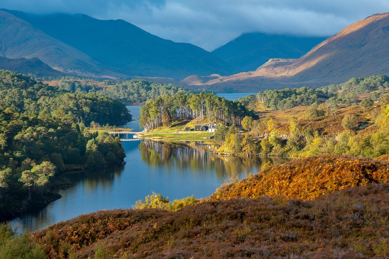 The beauty of Scotland Glen Affric Scottish Highlands Scotland UK