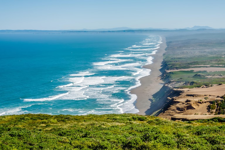 Point reyes national seashore landscapes in california. Image shot 09/2017. Exact date unknown.