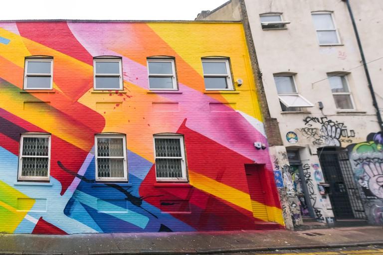 Mad C 1 - London Mural Festival - 1 Chance Street, Shoreditch, 1 Chance Street, E1 6JT