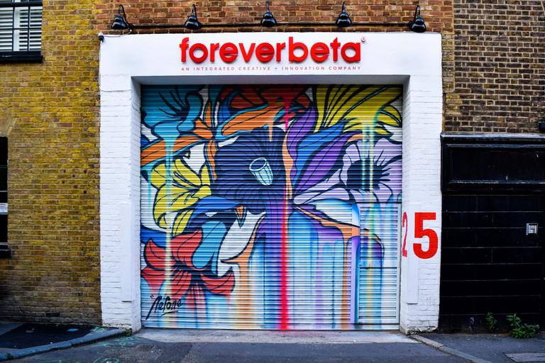 Nerone - London Mural Festival - 25 Holywell Row Hackney, EC2A 4XE