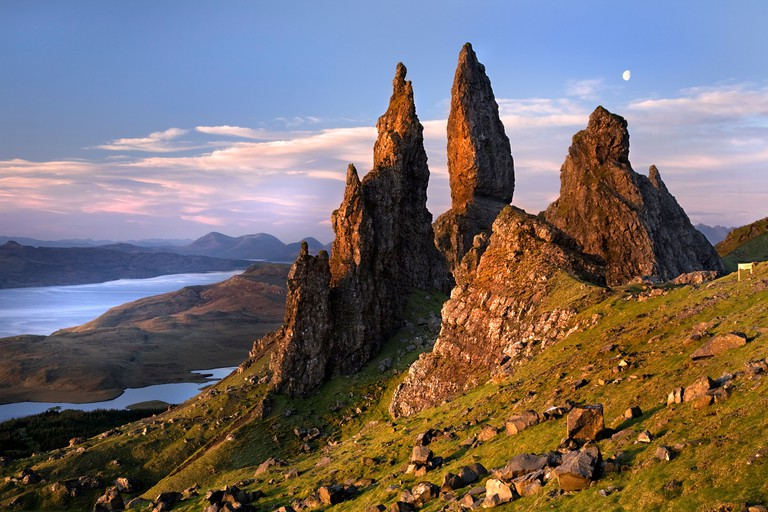 Old Man of Storr, Isle of Skye,. Image shot 05/2009. Exact date unknown.