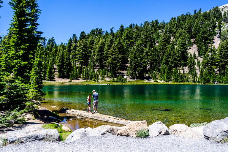 Emerald Lake at Lassen Volcanic National Park