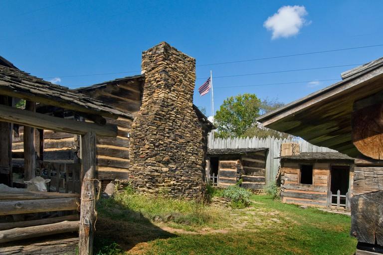 Prickett's Fort State Park, Fairmont, West Virginia
