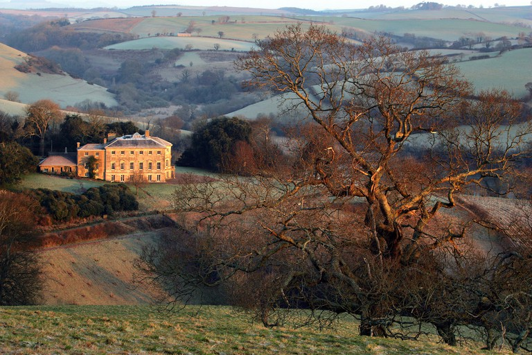 Sharpham House in Devon