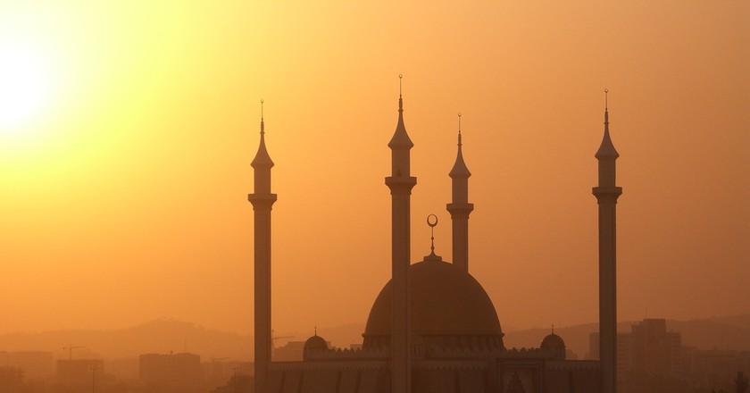 A Mosque in Abuja, Nigeria ©Kipp Jones