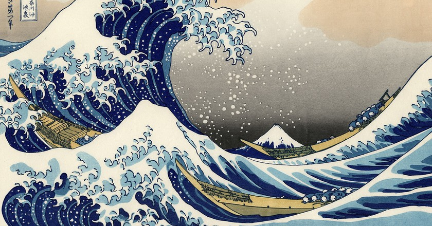 The Great Wave of Kanagawa / Pixabay