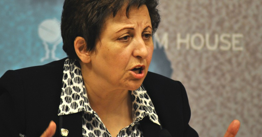 Shirin Ebadi's Campaign For Democracy