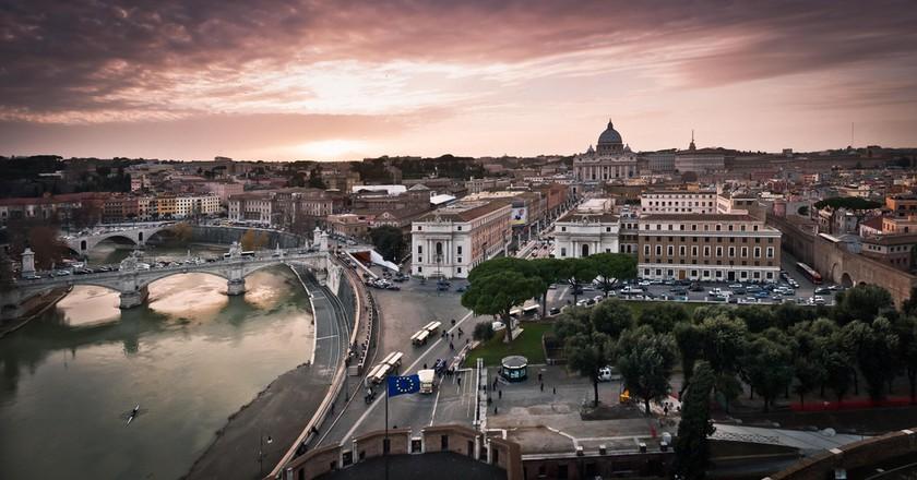 Vatican Sunset © Benson Kua/Flickr