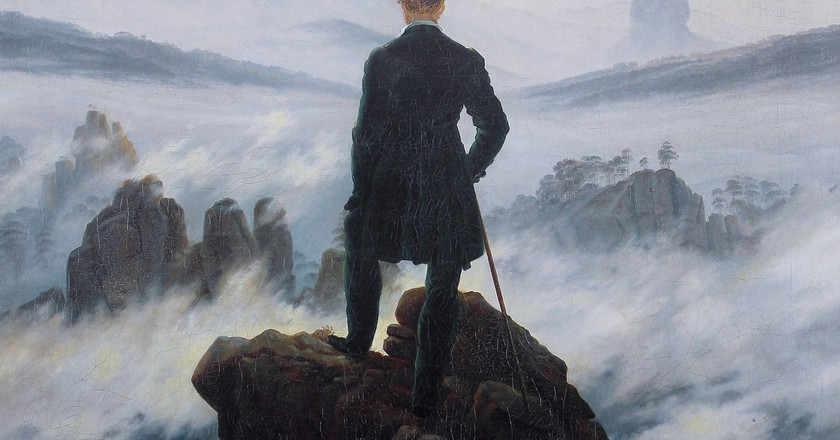 Der Wanderer über dem Nebelmeer | © Wikicommons