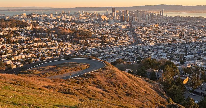 San Francisco Sunrise ©Nicolas Raymond