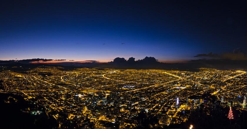 Bogota at Dawn | ©Fernando Garcia/Flickr
