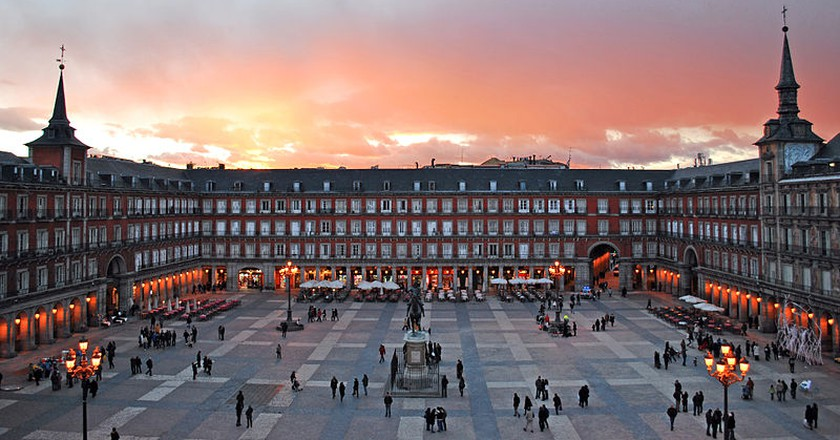 Madrid's Plaza Mayor | © Sebastian Dubiel/WikiCommons
