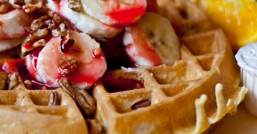 Pecan waffles   ©Kunal Mukherjee / Flickr