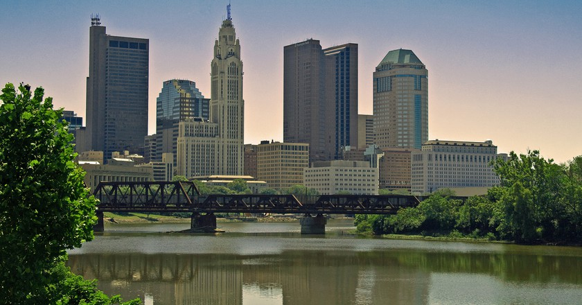 Columbus Skyline Ohio Jpmueller99 Flickr