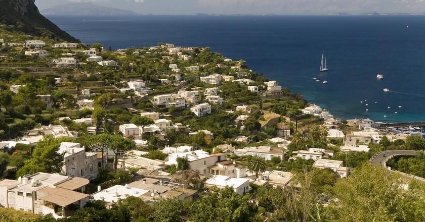Capri, Italy © S J Pinkney