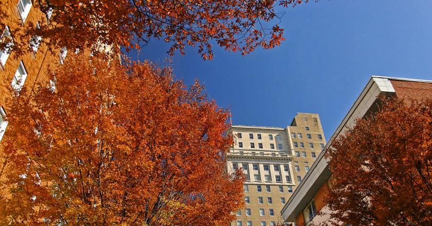 Autumn in downtown Winston-Salem | ©Brian Leon/Flickr