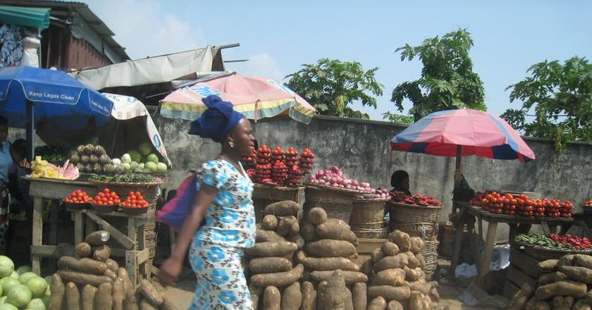 Lagos Market  © satanoid/Flickr