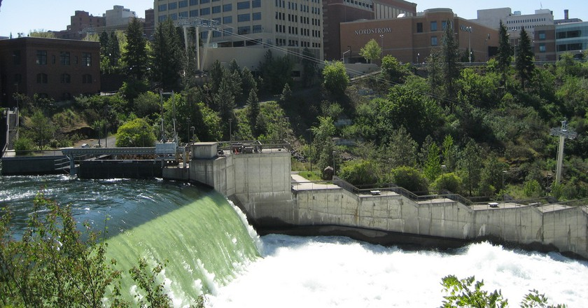 Downtown Spokane Washington Clarkproductions2008 Flickr