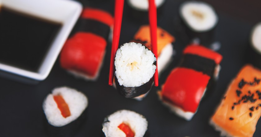 Sushi l Pexels