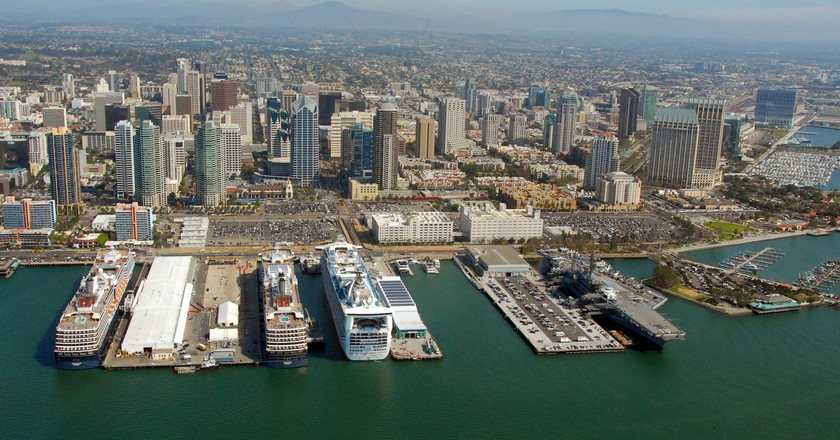 Cruise Ships Visit Port of San Diego ©Port of San Diego