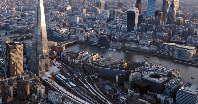 London Skyline © Daniel Chapma/WikiCommons