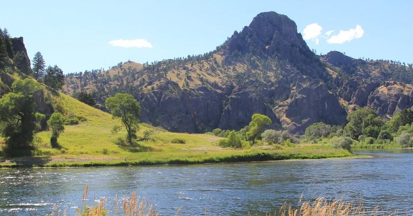 Wolf Creek Canyon and the Missouri River between Helena and Great Falls Montana © Sue Kunda/Flickr