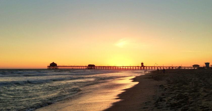 Huntington Beach Sunset   ©Jeff Turner/Flickr