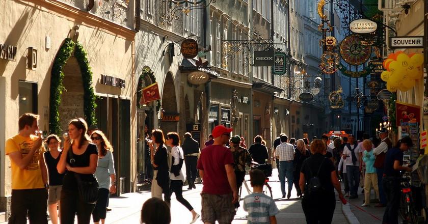 Getreidegasse Street  | © _big_mouth_ / Flickr