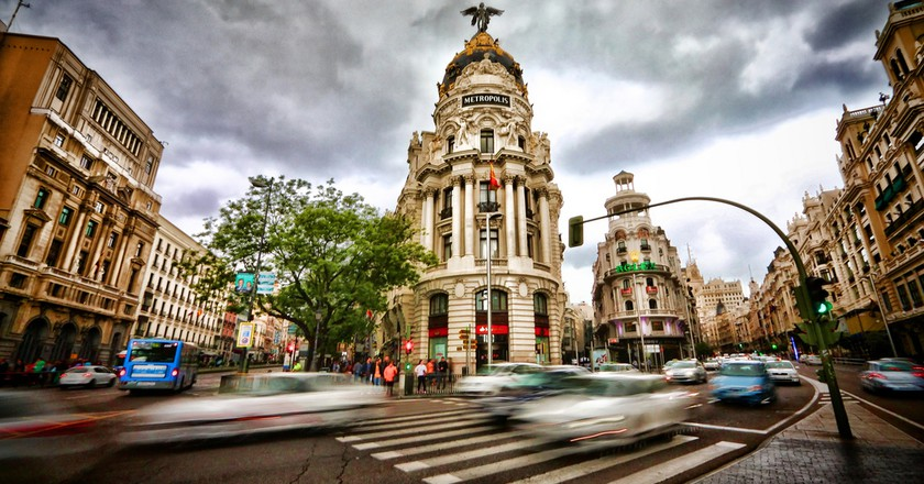 Gran Via, Madrid © Wenjie, Zhang / Flickr