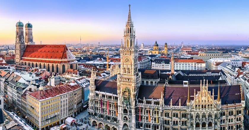 Panorama view of Munich city center  | © Mapics/Shutterstock