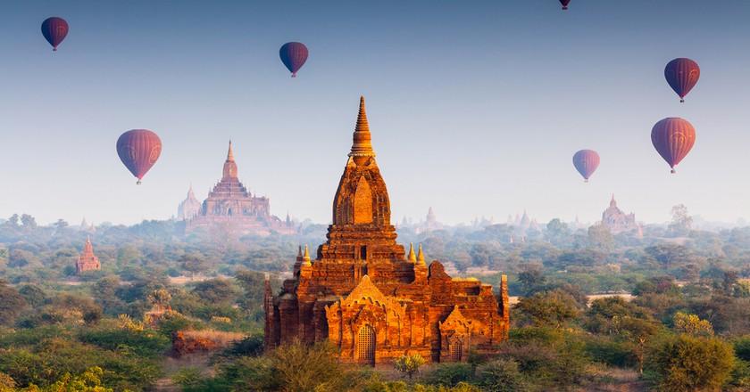 Temples in Bagan, Myanmar ©Bule Sky Studio | Shutterstock