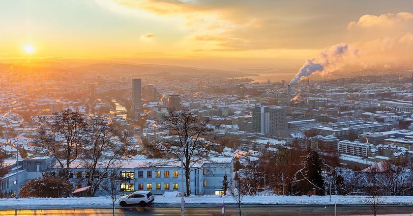 Sunrise Over Zurich | © Lukas Schlagenhauf/Flickr