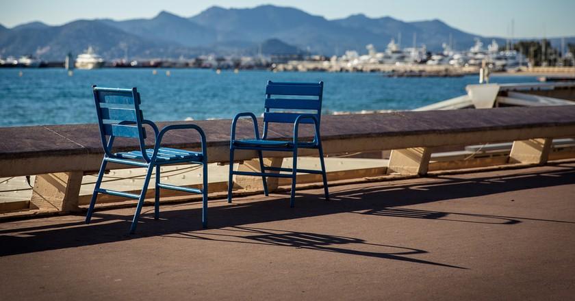 "The chairs of ""La Croisette"" | ©Franck Michel/Flickr"