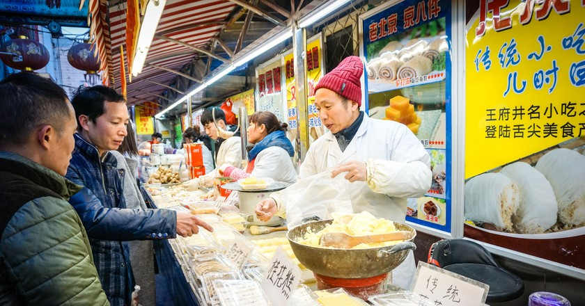 Street food in Beijing, China | © katiebordner / Flickr